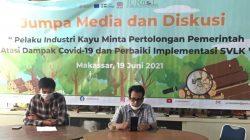 Lokakarya JURnaL Celebes, Pelaku Industri Kayu Meminta Bantuan Pemerintah