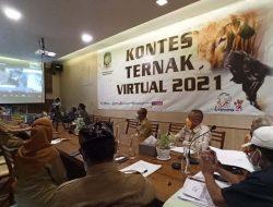 Kontes Ternak Sapi-Kambing Secara Virtual Jadi yang Pertama di Jawa Timur