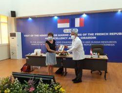 Indonesia dan Prancis Kolaborasi Tangani Polusi Laut