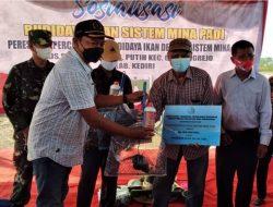 Terima Bantuan Paket Sistem Minapadi, Kediri Siap Maksimalkan Potensi Hasil Pertanian
