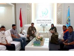 Diskusi Ketua DPRD Sulsel dengan Mentan SYL Bahas Masalah Pertanian