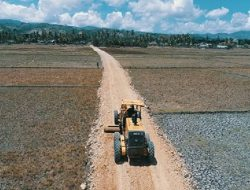 Kementan Realisasikan Program Pembangunan Jalan Tani di Gorontalo
