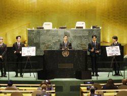 Kenakan Jas Ramah Lingkungan, BTS Serukan Harapan di Sidang Umum PBB 2021