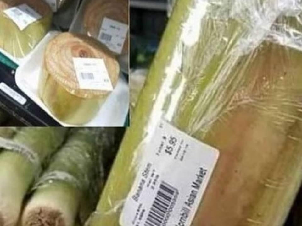 Gedebog atau batang pisang dijual mahal di Amerika seharga $5,95 kurang lebih setara dengan Rp 85.000