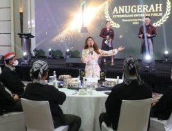 Jenita Janet Dinobatkan Jadi Duta Peternak Milenial oleh Kementan