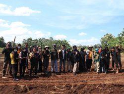 Penanaman Perdana Pengembangan Komoditas Kedelai di Denfarm Fakultas Pertanian Unhas
